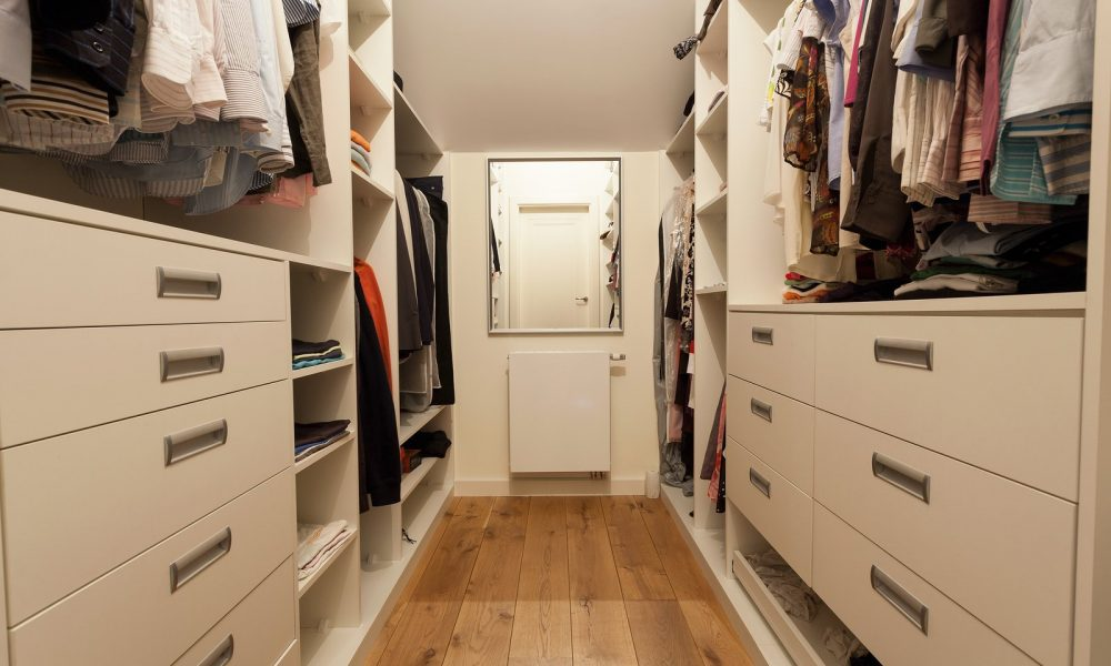 Big wardrobe in the new house horizontal